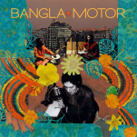 "Album cover , ""Bangla Motor"" Justin Tracy NY city"